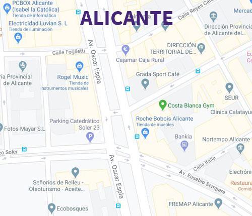 Neurosenses en Alicante