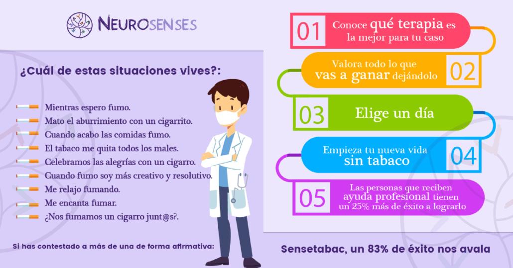 terapia para dejar de fumar